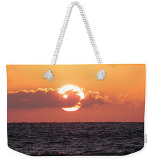 Hunting Island Sunrise Weekender Tote Bag