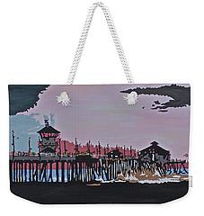 Huntington Beach Pier 1 Weekender Tote Bag