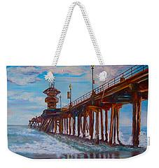 Huntington Beach Pier 2 Weekender Tote Bag