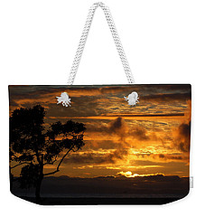 Weekender Tote Bag featuring the photograph Huntington Beach Sunset by Matt Harang