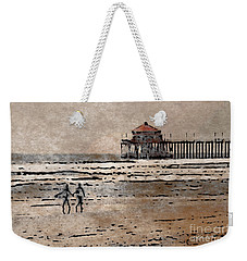 Huntington Beach Surfers Weekender Tote Bag