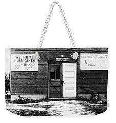 Hurricane Hunters Outbuilding In Alaska Weekender Tote Bag by Vizual Studio