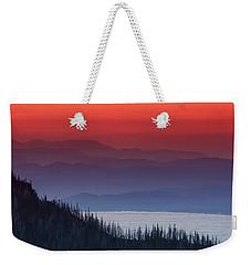 Hurricane Ridge Sunset Weekender Tote Bag