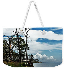 Weekender Tote Bag featuring the photograph Hurricane Trail by Faith Williams