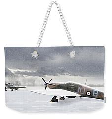 Hurricanes In The Snow Weekender Tote Bag