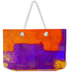 Hurry Sundown Weekender Tote Bag