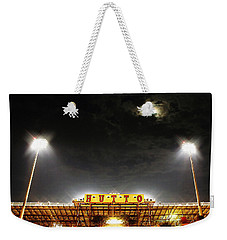 Hutto Hippo Stadium Weekender Tote Bag by Trish Mistric