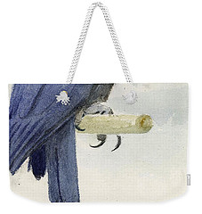 Hyacinth Macaw Weekender Tote Bag by Henry Stacey Marks