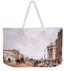 Hyde Park Corner, Looking Weekender Tote Bag