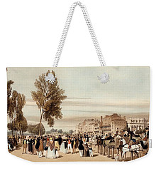 Hyde Park, Towards The Grosvenor Gate Weekender Tote Bag by Thomas Shotter Boys