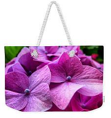 Hydrangea Bliss Weekender Tote Bag