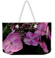 Hydrangea Flowers  Weekender Tote Bag by James C Thomas