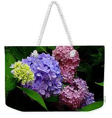 Hydrangea Glow Weekender Tote Bag