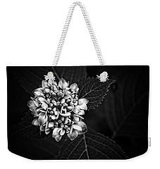 Hydrangea In Monochrome #5 Weekender Tote Bag