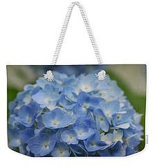 Hydrangea Solitude Weekender Tote Bag