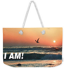 The Great I Am  Weekender Tote Bag