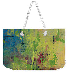 Curious Yellow Weekender Tote Bag