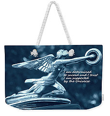 I Am Determined Weekender Tote Bag by Patrice Zinck