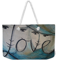 I Am Love  Weekender Tote Bag