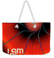 I Am Resurrection And Life Weekender Tote Bag