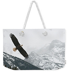 I Am The Eagle Weekender Tote Bag