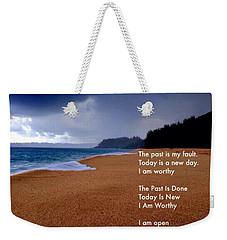 I Am Worthy Weekender Tote Bag