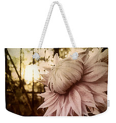 Weekender Tote Bag featuring the photograph I Bloom Only For You She Whispered by Susan Maxwell Schmidt