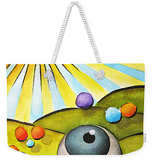 I Can See Clearly Now Weekender Tote Bag