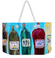 I Choose Wine By The Label Weekender Tote Bag