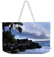 I Ke Kai Hawanawana Eia Kuu Lei Aloha - Paako Beach Maui Hawaii Weekender Tote Bag