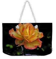 Weekender Tote Bag featuring the photograph I Know I'm Beautiful by Hanny Heim