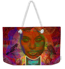 Solar Eyes Weekender Tote Bag by Joseph Mosley