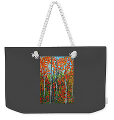 I Love Fall Weekender Tote Bag