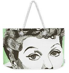 I Love Lucy Weekender Tote Bag