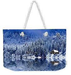 I Loved You In Winter Weekender Tote Bag