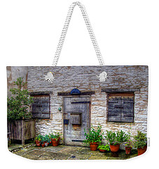 Weekender Tote Bag featuring the photograph I Miss Home by Doc Braham