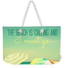 I Must Go Weekender Tote Bag