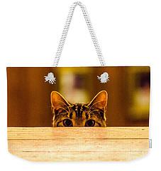 I See You Weekender Tote Bag by Mike Ste Marie
