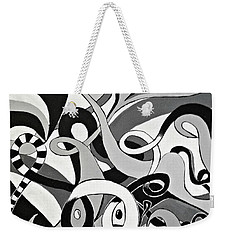 I Seek U Weekender Tote Bag