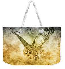 I Shall Return Weekender Tote Bag by Eti Reid