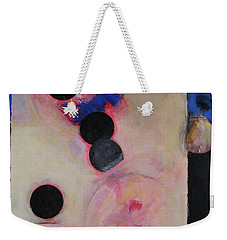 Weekender Tote Bag featuring the painting I Smell Chocolate  by Cliff Spohn