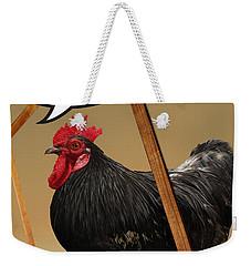 I Was Framed Weekender Tote Bag