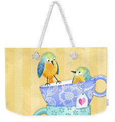 I Was Here First Weekender Tote Bag