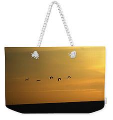 Ibis Sunrise Weekender Tote Bag