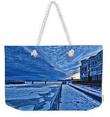 Ice Station Hudson Weekender Tote Bag