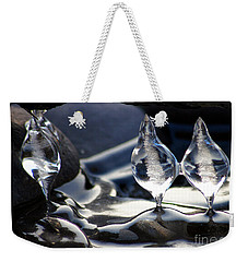 Ice Bulbs Weekender Tote Bag by Stanza Widen