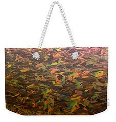Ice Camo Weekender Tote Bag