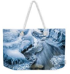 Ice Cathedral Weekender Tote Bag