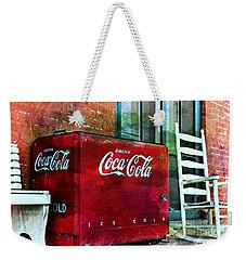 Ice Cold Coca Cola Weekender Tote Bag