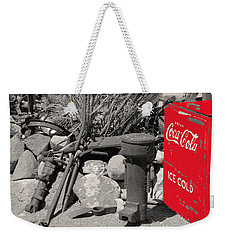 Ice Cold Drink Weekender Tote Bag by Leticia Latocki